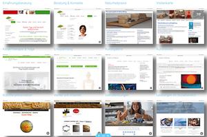 Abbildung/Hardcopy: Referenzen WordPress Design und Freies Design HTML der Referenzseite Harlosl.biz - JuerxHarlos Webdesigner